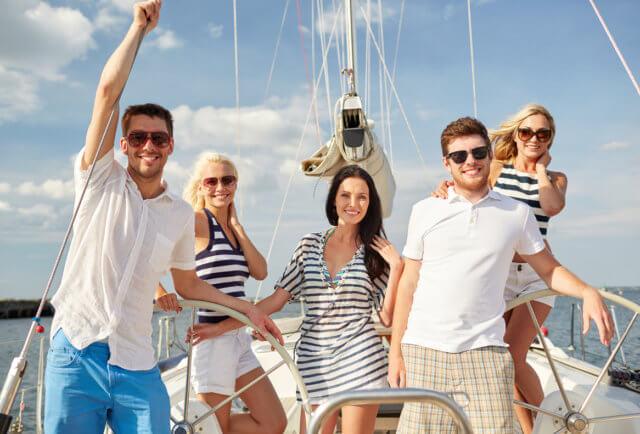 Одежда для прогулки на яхте